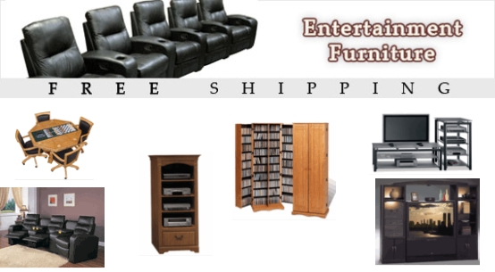 Discount Home Theater Furniture with Free Shipping in the USA
