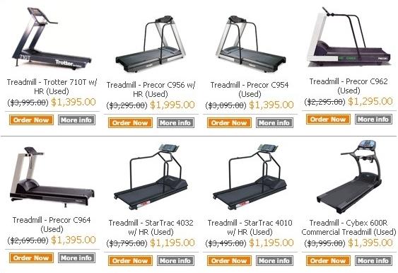 Michigan used treadmill